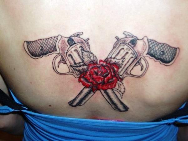 1000 idées sur le thème Tatouage De Revolver sur Pinterest ...