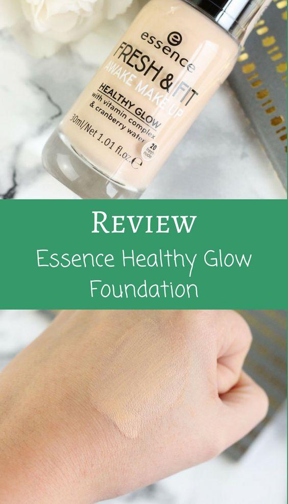 Neue Drogerie Foundation von Essence - Healthy Glow