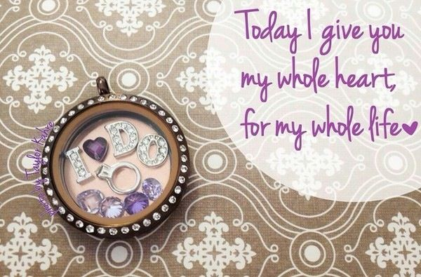 I Do...for that special day. A perfect gift to her from the man she loves.