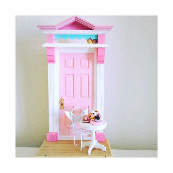 Porte de fée, Porte de fée des dents, Pâtisserie miniature, petits gâteau, cadeau adolescente, cadeau fée, fée de gâteau, Poussière de fée
