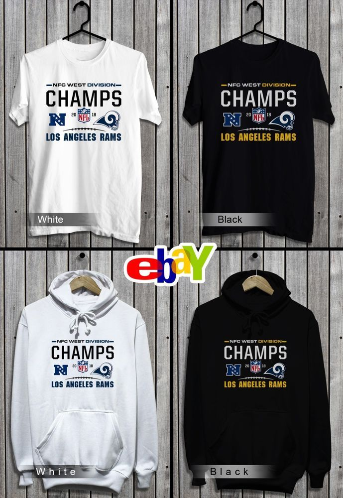 133c9f9e Los Angeles Rams T-Shirt-Sweatshirt-Hoodie 2018 NFC West Champions NFL  Jersey #fashion #clothing #shoes #accessories #mensclothing #shirts (ebay  link)
