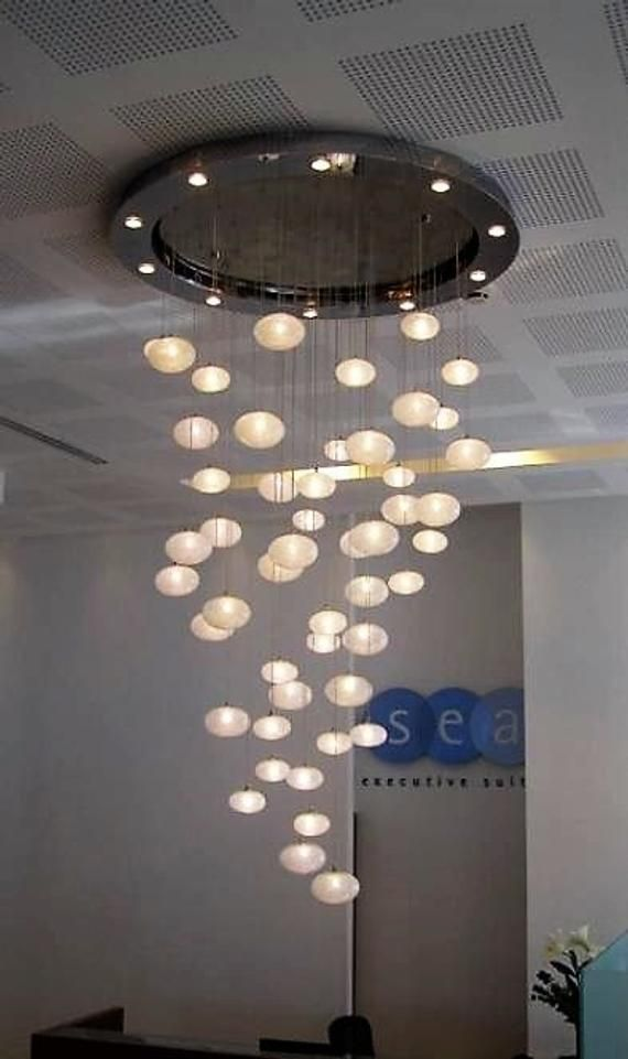 Snow Light N Gl Pendant Lighting By Galilee Contemporary Extra Large Dining Room