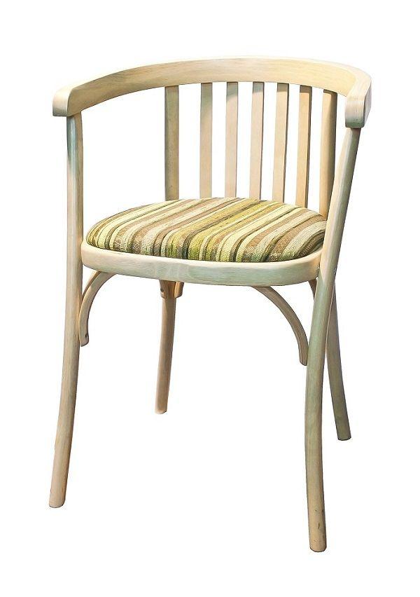 Деревянный стул Алекс с мягким сидением