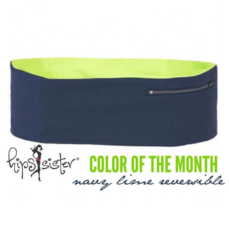 Happy August! Check out #hipssister #colorofthemonth #navy #lime left coast reversible just $19.99 throughout the month of August while supplies last. #livelifehandsfree