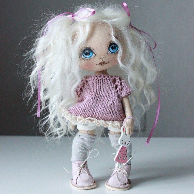Готова Олли;) маленькая озорная девочка, ножки сгибаются волосы натуральные…