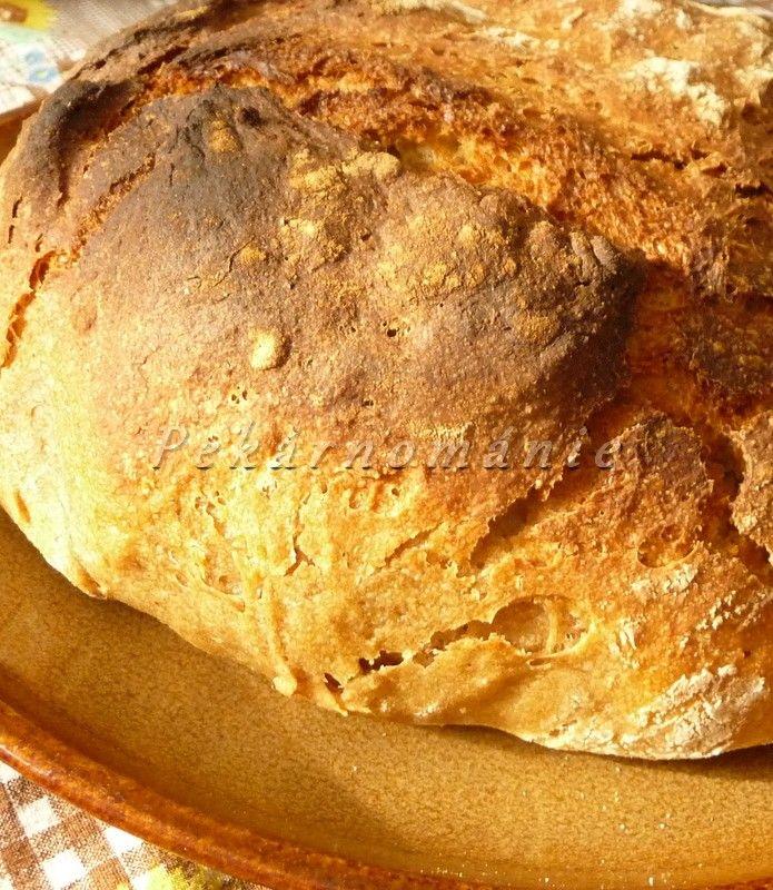 Špaldový chléb se zakysankou