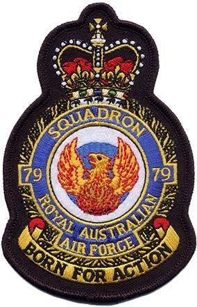 Defence Gifts - 79Sqn RAAF UNIFORM CREST  PATCH, $8.50 (http://www.defencegifts.com.au/79sqn-raaf-uniform-crest-patch/)
