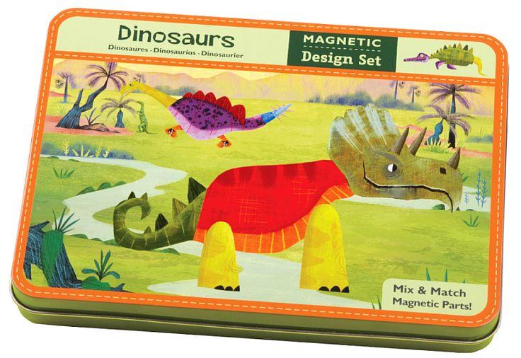 Magnetyczna układanka w pudełku Dinozaury Mudpuppy | ZABAWKI \ Zabawki magnetyczne \ Układanki NA PREZENT \ Prezent dla chłopca ZABAWKI \ Puzzle i układanki \ Układanki magnetyczne Mudpuppy | Hoplik.pl wyjątkowe zabawki
