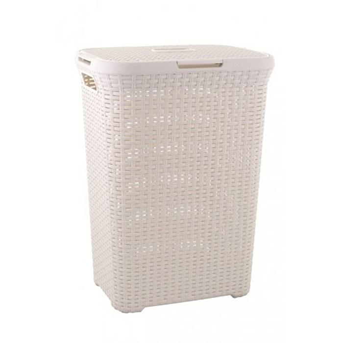 Ray Grahams Curver Rattan Rectangular Laundry Basket For