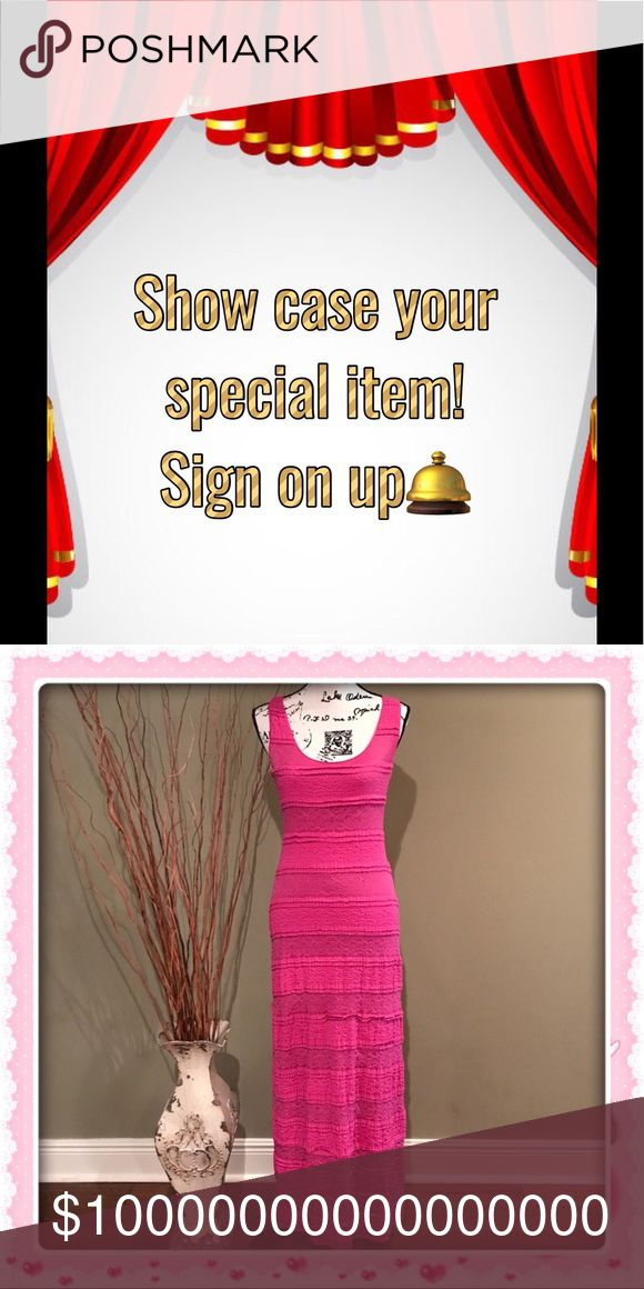 """Showcase Your Item! Sign up! Pick will Start Wed """"Liked"""" this listing, share, and tag with your PFFs!  Tired of looking at some item in your closet or have an Item you are planning on putting on sale?  Direct share one item you like to get sold when it's your turn or just tag me to it.  The pick of the week will be up for 7 days unless sold.  Sign up type """"show mine""""  Come back to this listing daily share 1 x 3 times throughout the day! Please sign in each time type """"Mon1""""  """"Mon2""""  """"Mon3""""…"""