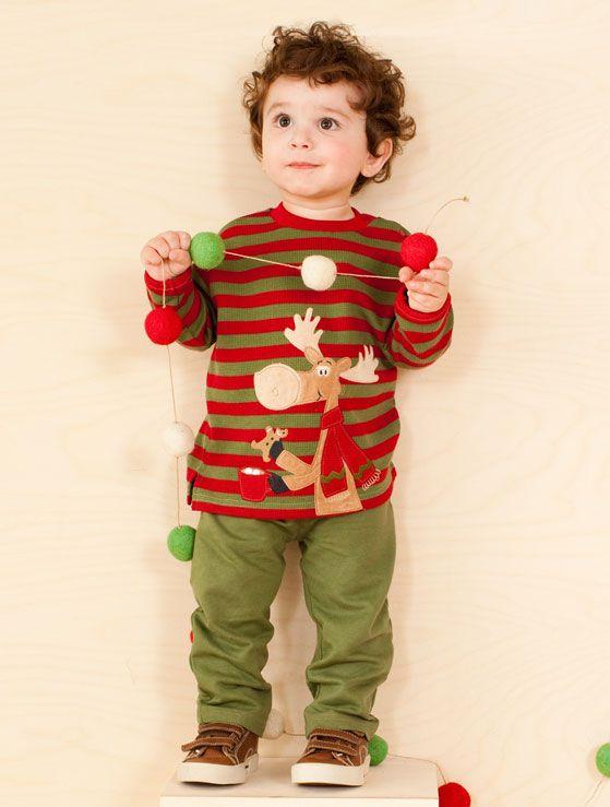 reindeer w/ green pant