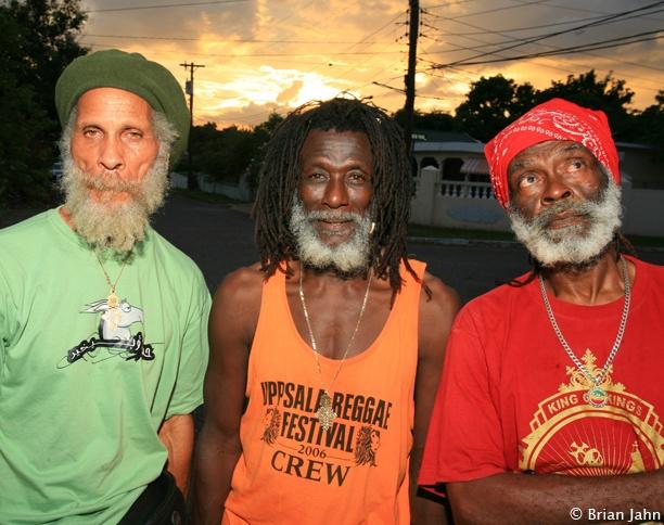The Congos, greatest reggae band ever  Row fishermen!   mizik in