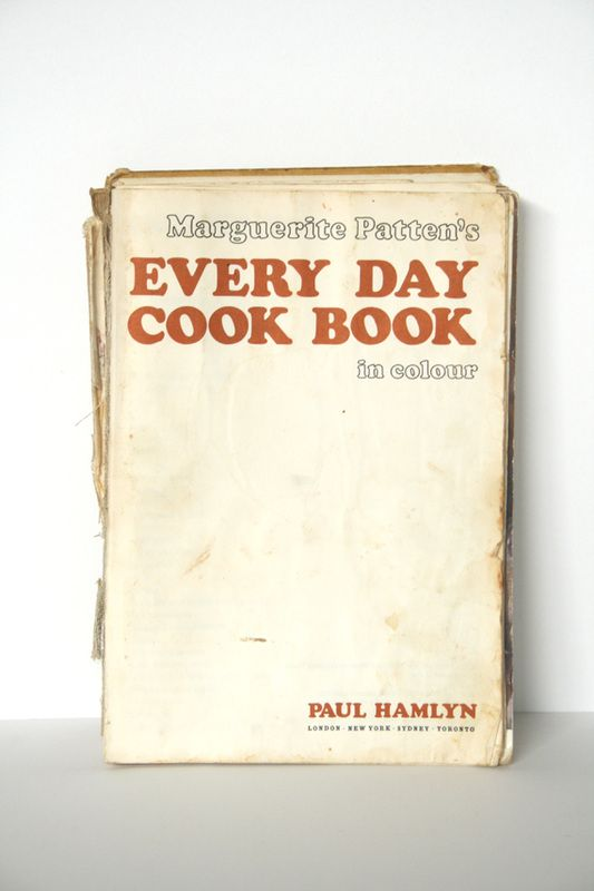Every Day Cook BooK, Marguerite Patten. Possibly the first book I cooked from.