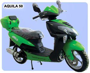 #Scutere Aquila 50, motor in 4 timpi, capacitate cilindrica 50 cc, se conduce fara permis! http://www.scutere.net/scuter_aquila_model.php