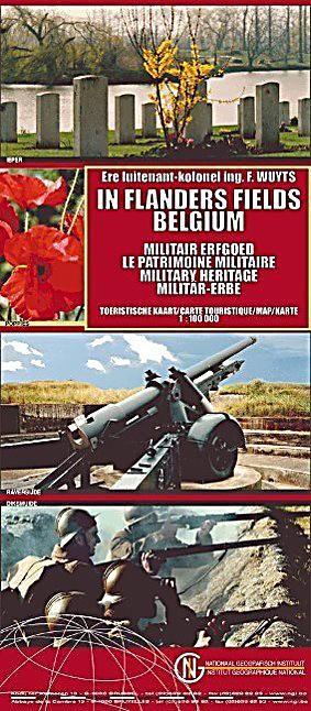 Belgien Militar Erbe Flandern 1 100 000 Karte Im Sinne
