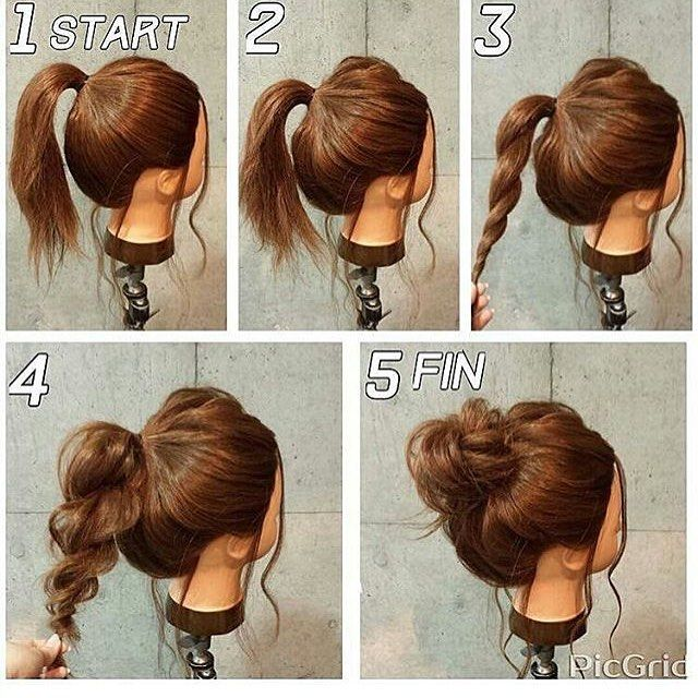 """3 Likes, 1 Comments - [Miss B] (@snacksnsparkles) on Instagram: """"Trying this Monday morning #bunlife #hairstyles #hairtutorial #hairinspo #hairgoals #hairideas…"""""""