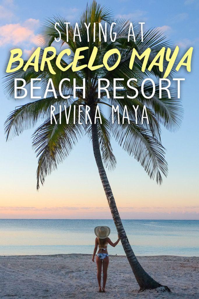 Staying at the Barcel Maya Beach Resort
