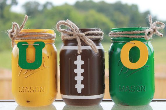 Oregon Ducks Collegiate Football by PerfectlyCreatedForU on Etsy