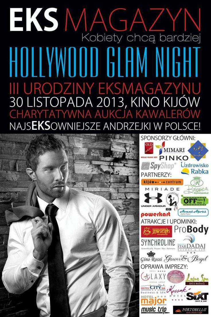 """Lapis Shop sponsorem głównym wydarzenia """"Hollywood Glam Night"""" organizowanego przez EksMagazyn"""