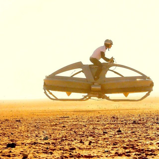 Hovercraft Bike by Aerofex