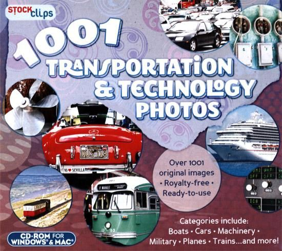 1001 Transportation & Technology Photos for Windows/Mac