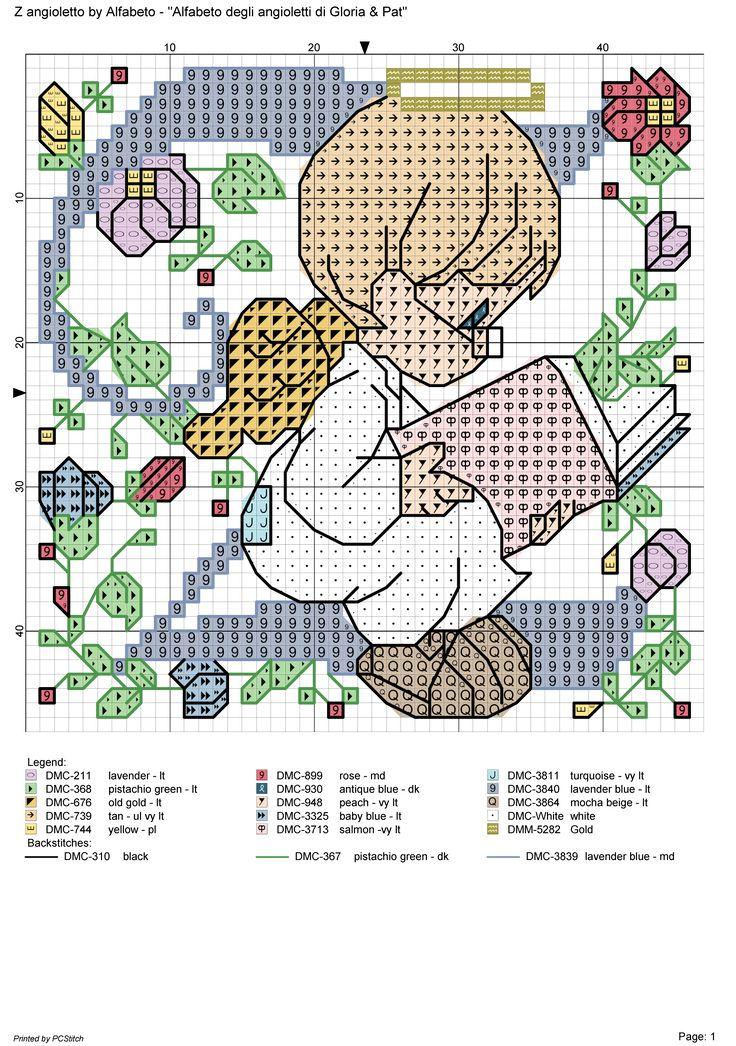 alfabeto degli angioletti: Z