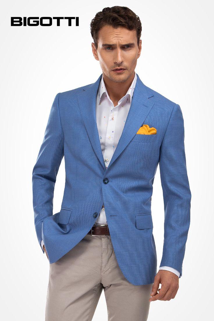 The #light #blue #blazer will #instantly #transform your #spring #summer #style www.bigotti.ro  #Bigottiromania #follow #sacou #bleu #mensfashion #menswear #mensclothing #menswardrobe #style #smart #stylish #relaxed