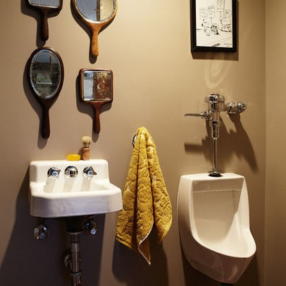 Best Mens Bathroom Decorating Ideas Images On Pinterest Metal