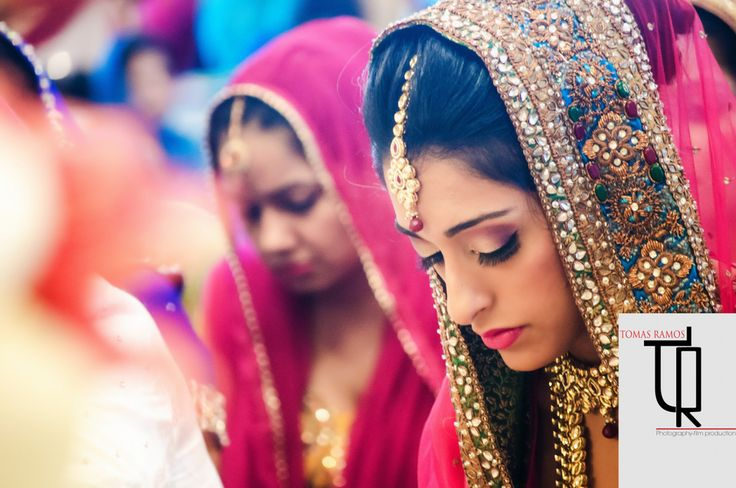 Beautiful South Asian bride