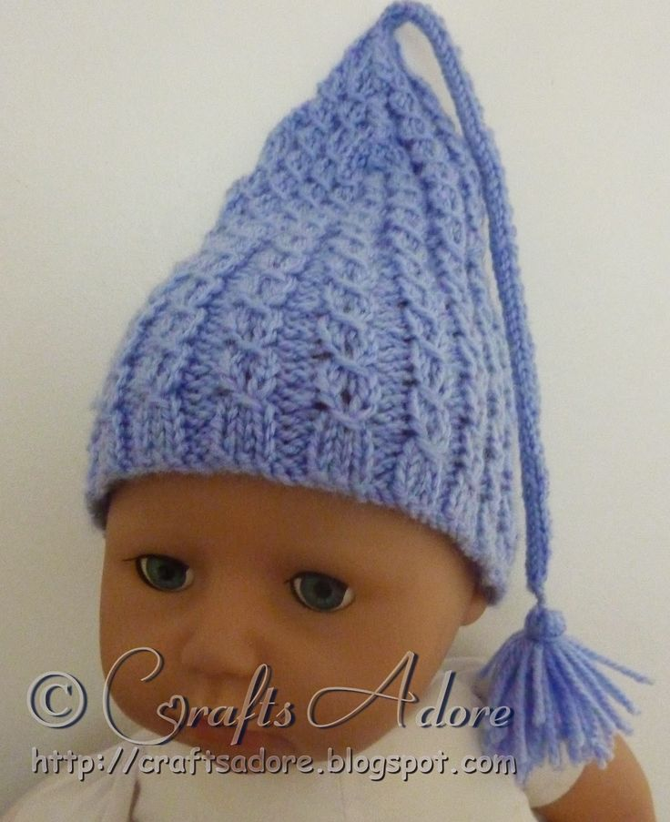 Knitting Pattern For Gnome Hat : Knitted Baby Hat - Incredible Expanding Gnome Cap Baby ...