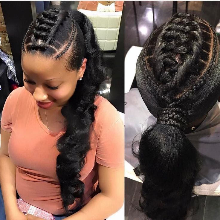 This is gorgeous! similar hair on website: Italian yaki wig-Mona #repost #ponytail #hairstyle #talent Coco Black Hair provide the most natural looking hair and wigs Change yourself today!