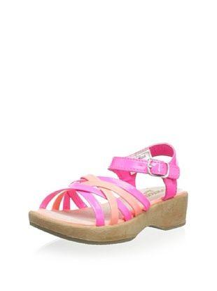 57% OFF OshKosh B'Gosh Sweety Platform Sandal (Toddler/Little Kid) (Coral)