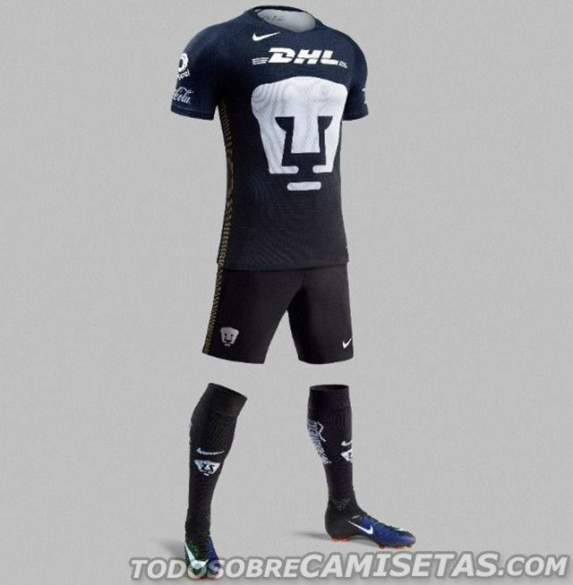 Tercer Jersey Nike de Pumas 2017