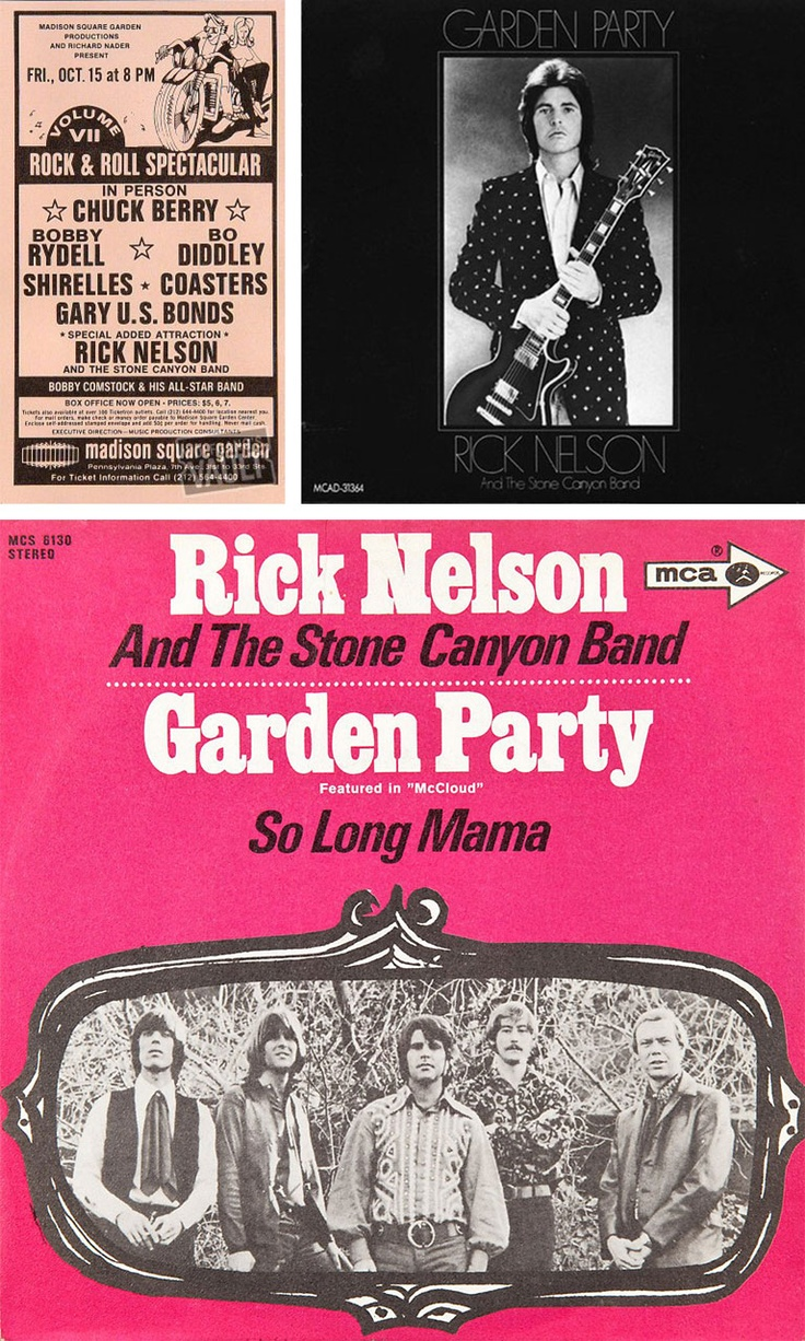 25 Best Ideas About Ricky Nelson Garden Party On Pinterest Ricky Nelson Nelson Garden And