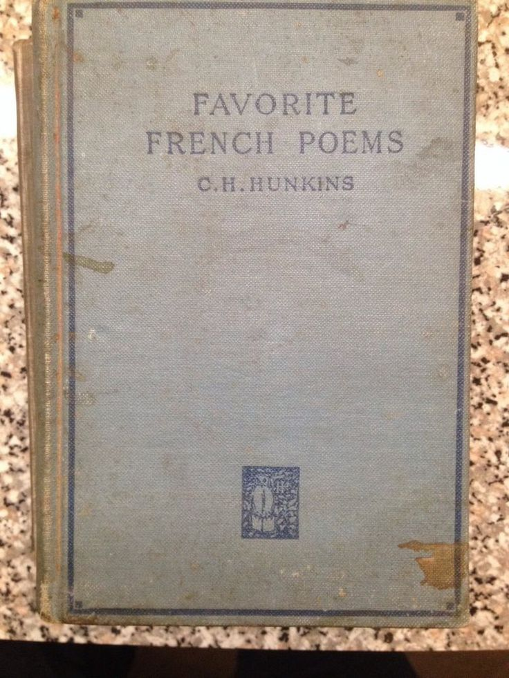 1925 favorite french poems victor hugo theophile gautier