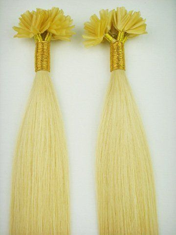 96 best beauty hair extensions wigs images on pinterest 200 nail tip strands 100 grams hot u fusion hair extensions 22 golden blonde 18 pmusecretfo Images