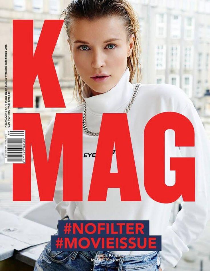 New #77 #MOVIEISSUE Model Joanna Krupa Foto Zuza Krajewska