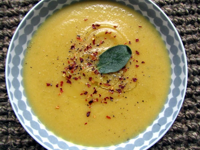 silky butternut squash + cauliflower soup / sweet potato soul ...