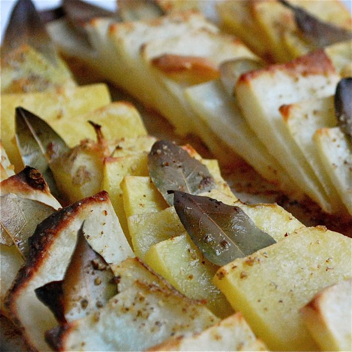 Domino Potatoes: Classic Roast Potatoes Get Dressed Up