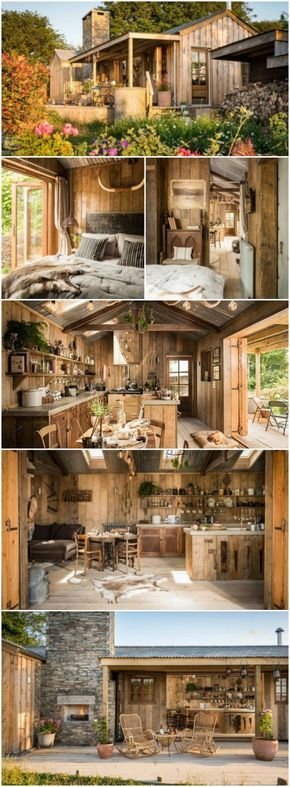 Perfect Couple's Retreat at the UK's Rustic Firefly Tiny House - Crossing the big pond to visit the UK is on our bucket list and we've already found where we're going to stay! The Firefly is a rustic tiny house located in Cornwall sitting in a lush and private setting. The beautiful home is rented out through Unique Home Stays for around $2,400 a week and sleeps two so this isn't your ideal family destination but it's perfect for a romantic retreat or solo getaway.