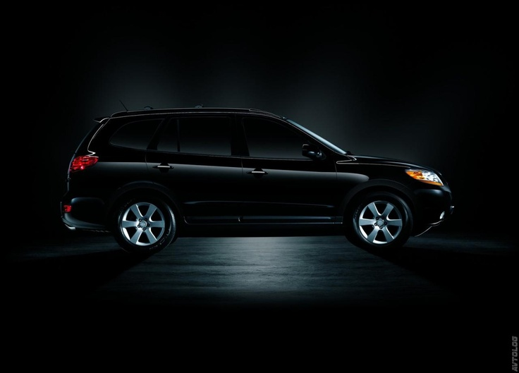 2007 Hyundai Santa Fe. Black Grace, as my mom would say
