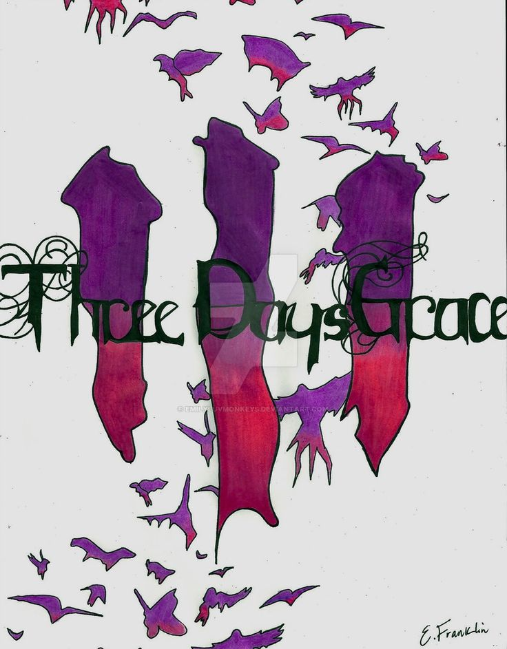 Three Days Grace Poster by  Three Days Grace Transit Of Venus Wallpaper