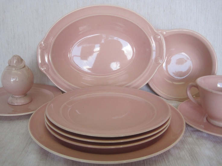 pink pastel lu ray dishes luray dishes pinterest pastels pink depression glass and. Black Bedroom Furniture Sets. Home Design Ideas