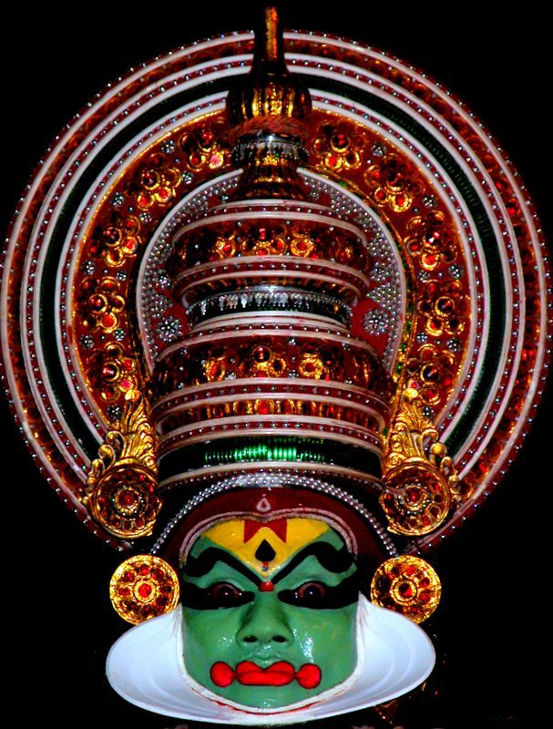 Kathakali dancer - Kochi, Kerala