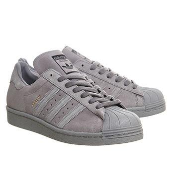 adidas superstar daim gris