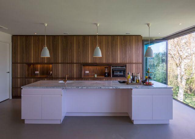 Design Hub - блог о дизайне интерьера и архитектуре: Перестроенное одноэтажное бунгало в Роттердаме
