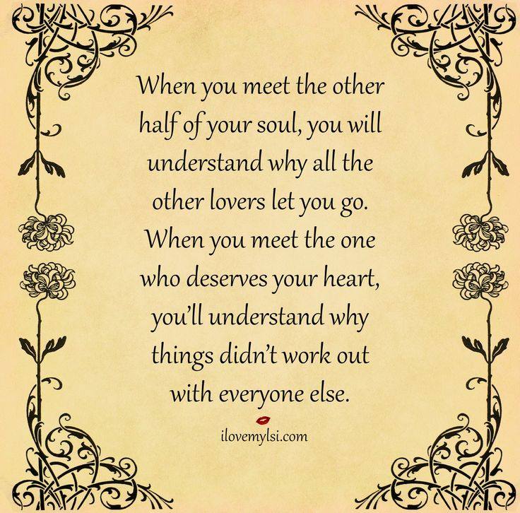 you meet your other half quotes