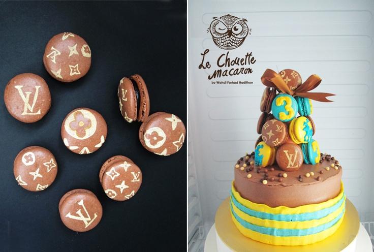 macaron cake | Macaron by Le Chouette Macaron | Pinterest | Macaron ...