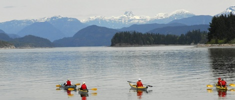 Welcome to Quadra Island Kayaks  For over fifteen years, Quadra Island Kayaks have been offering Sea kayaking tours from the beautiful east side of Quadra Island, British Columbia. We are located on the water in Drew Harbour Across from Rebecca Spit Provincial park. Quadra Island is located In one of the premier sea kayaking tour areas of Vancouver Island, British Columbia.