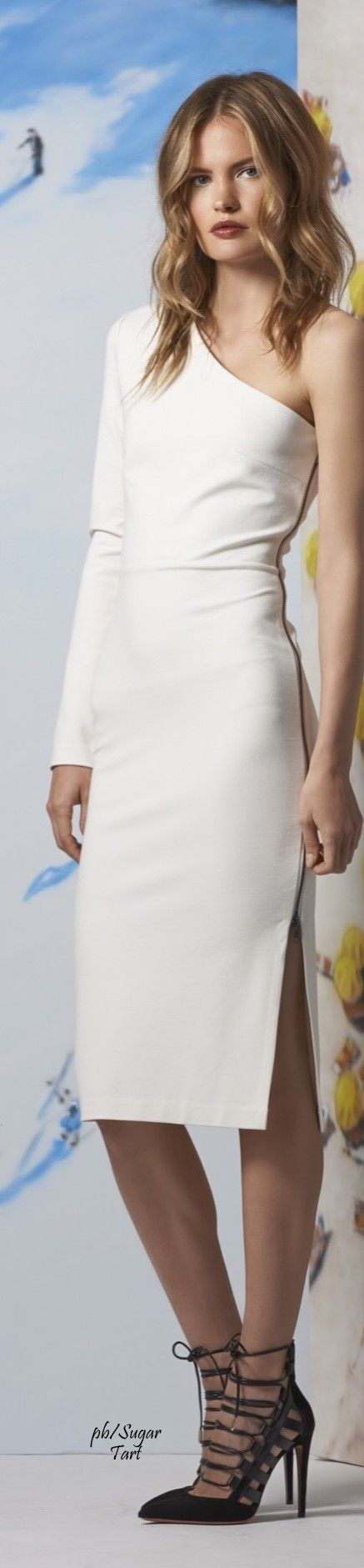 Veronica Beard Resort 2016 WHITE • HAUTE • CHIC #fashion✿ιиѕριяαтισи❀ #abbigliamento